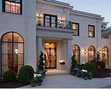 Luxury Modern American House Exterior Design Decoration De Facade De Maison 787 Photo Deco Maison Id Es