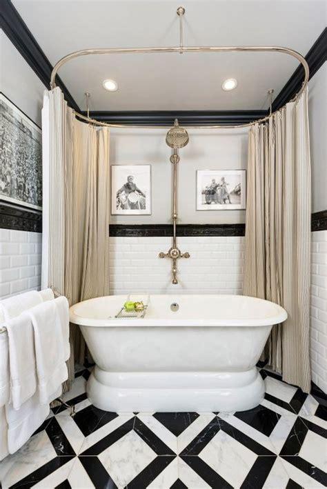 21 Idées Déco De Salle De Bain En Noir Et Blanc Deco