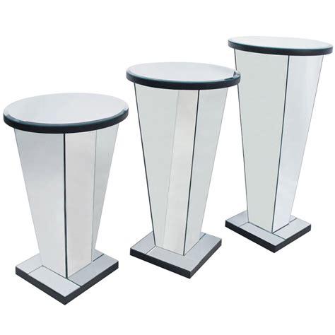 mirror pedestal stand venetian mirrored pedestal stand furniture from