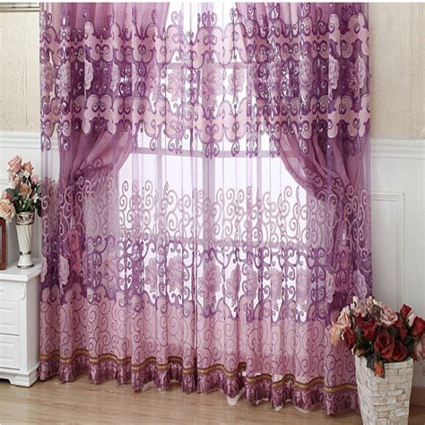Living Room Curtains Contemporary by Contemporary Living Room Curtains Are Fabulous In Purple Color