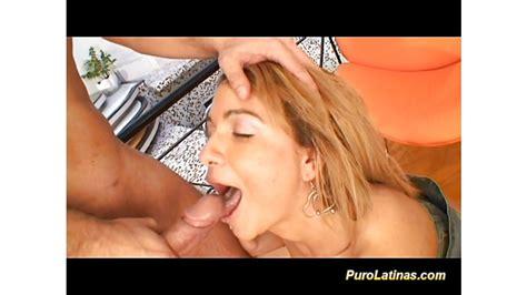 puro latina takes a big cock sex porntube