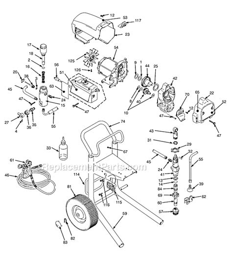 graco  parts list  diagram series