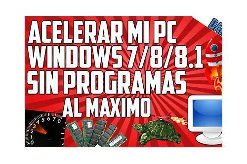 baixar o windows 7 acelerar al maximo