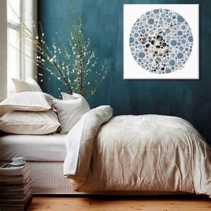 Deco Bleu Canard : d coration murale bleu canard blog izoa ~ Teatrodelosmanantiales.com Idées de Décoration