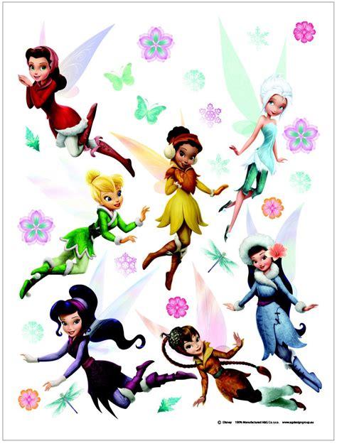 maxi stickers f 233 e clochette fairies decokids tous leurs h 233 ros