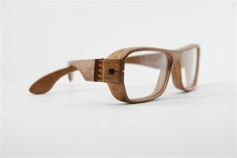 herrlicht handmade wood glasses walnut maple  pear