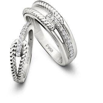 exchange wedding vows  precious platinum love bands