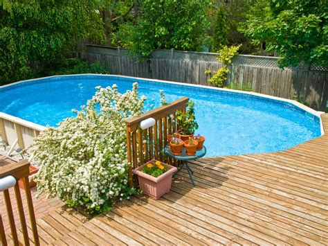Cheap Decks For Above Ground Pools