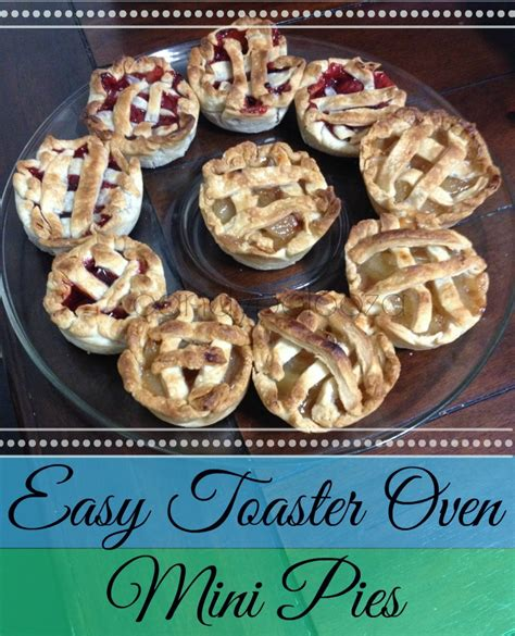 toaster oven apple pie easy toaster oven mini pies candypolooza