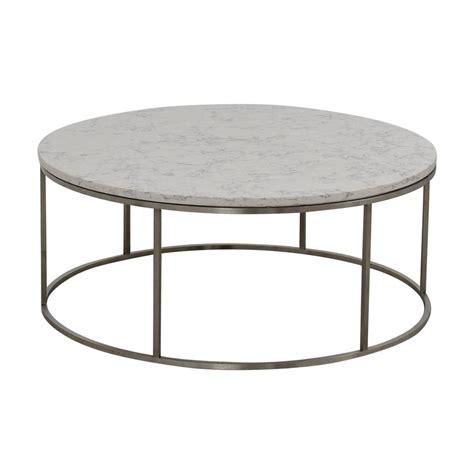 room board coffee table 53 off room board room board round marble top