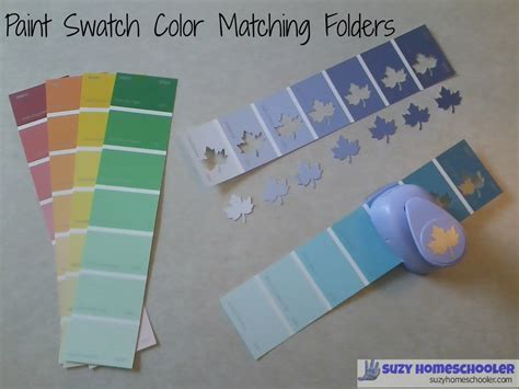 Paint Swatch Color Matching Folders