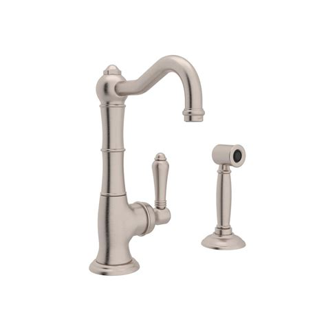 Country Kitchen Faucets rohl country single handle standard kitchen faucet with