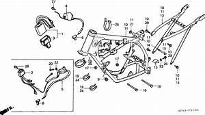 Honda Cr80rg 1986 Frame Body  Ignition Coil Supplied Next