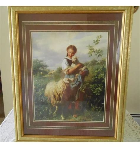 Ebay Home Interior Pictures by Beautiful Vintage Quot The Shepherd S Quot Homco Home
