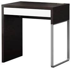 bureau noir et blanc ikea bureau micke ikea noir clasf