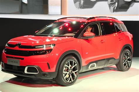 citroen suv 2018 citroen rolled out its 2018 c5 aircross in china