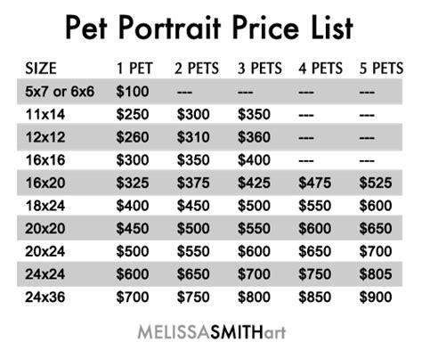 Pet Portrait Paintings From Photos  Melissa Smith Art