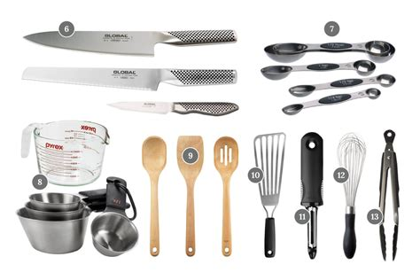 basic essential cooking tools  kitchen  cook