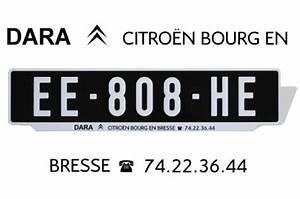 Garage Citroen Bourg En Bresse : plaques noires avec bavette personnalis e ~ Gottalentnigeria.com Avis de Voitures