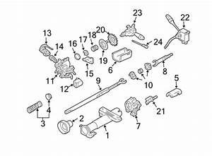 Chevrolet Cavalier Lock Housing  Retainer  Tilt  Steering