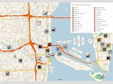 Large Miami Maps for Free Download and Print High