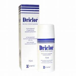 Driclor Antiperspirant 75 Ml Roll On For Excessive