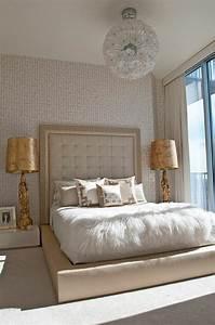 les papiers peints design en 80 photos magnifiques With papier peint de chambre a coucher