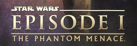 Star Wars Episode 1 The Phantom Menace Retromash