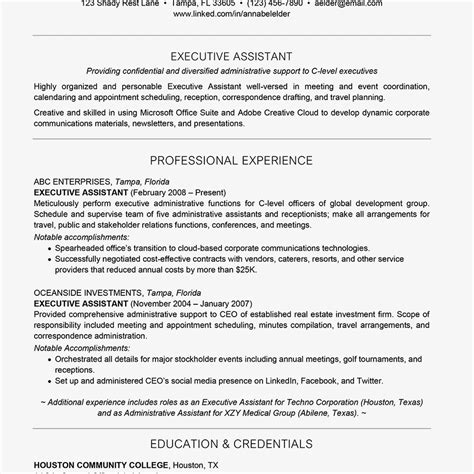 How Many To List On Resume by How Many Years Of Experience To List On Your Resume