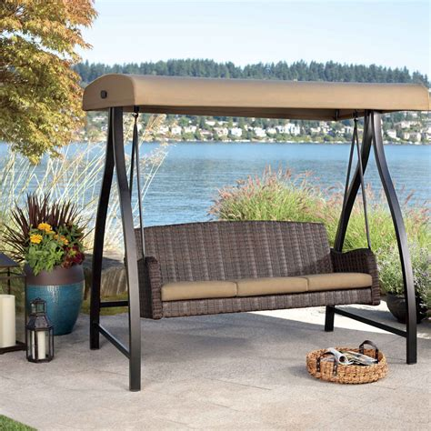 kmart patio swing chair patio patio swings with canopy home interior design