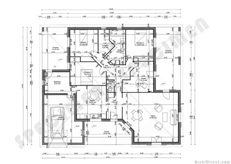 plan maison 150m2 4 chambres maison 150 m2 top maison