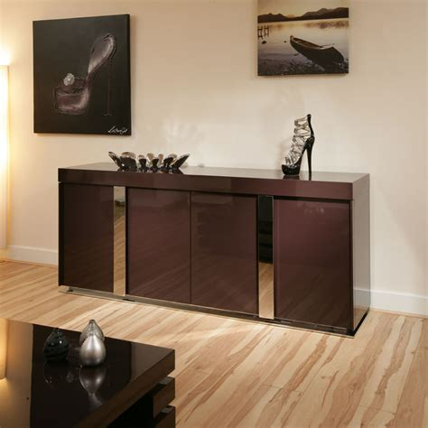 Modern Sideboard Buffet modern plum purple gloss sideboard cabinet buffet 2