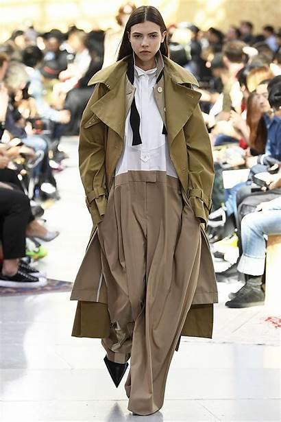 Spring Sacai Summer Menswear Trends Woman Paris