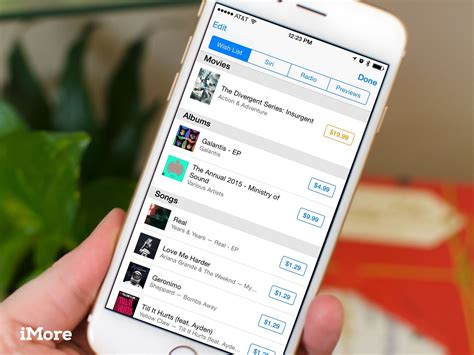 where are photos stored on iphone how to view your itunes and app wish lists on iphone