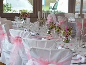 Deco Mariage Romantique : mariage rose et blanc ~ Nature-et-papiers.com Idées de Décoration