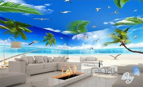 entire living room wall murals idecoroom