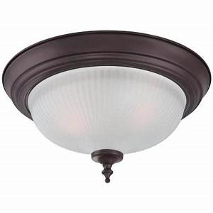 Westinghouse 2 light oil rubbed bronze flush mount 2 pack for Home depot flush mount light 2 pack