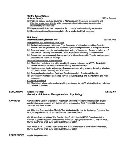 best information technology resume 28 images best