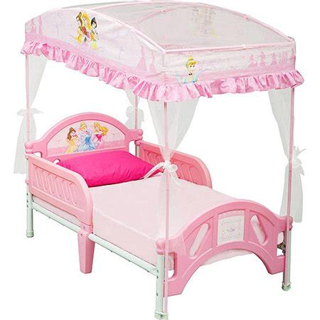 princess bed canopy disney princess toddler bed with canopy walmart