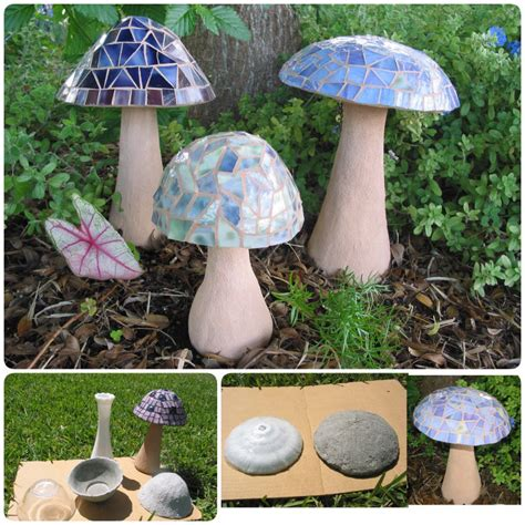 garden creative mushroom projects page