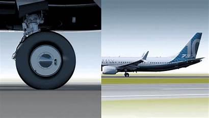 737 Boeing Max Gear Landing Legs Longer