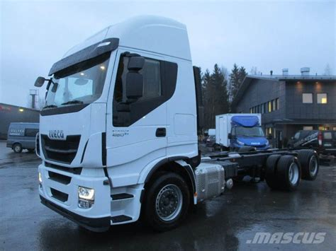 Used Iveco Stralis-as260s48-6x2-4 Cab & Chassis Year