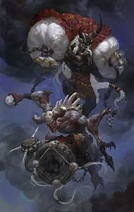 Demon Japonais Dessin : shuro and kuro oriente art fantastique dark fantaisie y fantastique ~ Maxctalentgroup.com Avis de Voitures