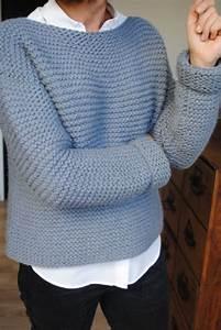 Modele De Tricotin Facile : mod le de pull facile tricoter patron tricot gratuit ~ Melissatoandfro.com Idées de Décoration