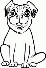 Pug Coloring Pugs Colouring Smile Printable Printables Dog Face Animal Popular Sheet Coloringhome Silly Trending Days Fortnite Getcolorings sketch template