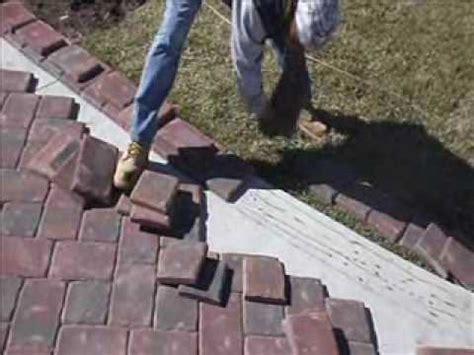 Paver Installation On Concrete Using Mason Bond Youtube