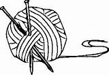 Yarn Svg Ball Wool Knitting String Needles Attention Roll Pages March Deadline Scarf Icon Knitters Craft Extended Until Hat Patterns sketch template