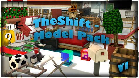 Model Pack V1 For Cinema 4d (minecraft)