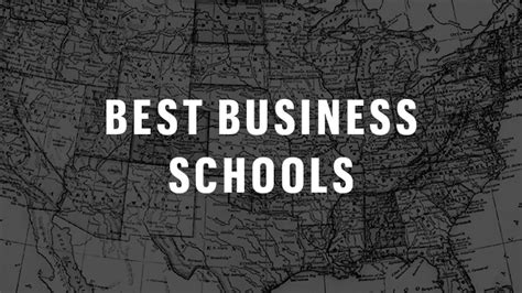 bloombergs  released list   mba programs