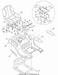 Troy Bilt 13an77tg711 Pony  2007  Parts Diagram For Fender